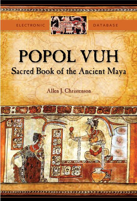 Cuốn sách cổ của người Maya - Popol Vuh (Tạm dịch: Cuốn sách của cộng đồng) đã nhắc nhiều lần đến nguồn gốc của sự sống. (Ảnh qua .utexas.edu)