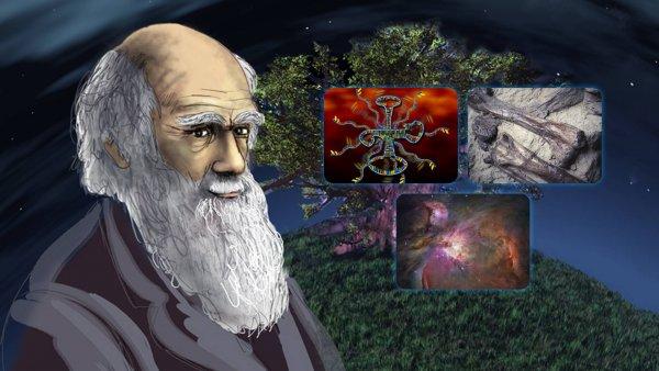 Thuyết tiến hóa của Darwin còn nhiều điểm chưa chứng minh được. (Ảnh qua Collective Evolution)