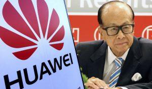 Tại sao tỷ phú Hong Kong Lý Gia Thành lại lựa chọn giúp đỡ Huawei? (Ảnh: t/h)