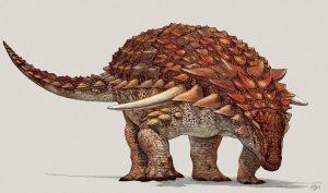 Hình vẽ của con khủng long lúc còn sống cách đây khoảng 100 triệu năm. (Ảnh qua Veja - Abril.com)