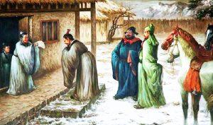 Lưu Bị ba lần đến mời, Gia Cát Lượng cảm động xuống núi phụ tá