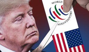 """Ông Trump nhấn mạnh, các quy định của WTO đã """"vắt kiệt"""" Mỹ trong nhiều năm và điều đó sẽ không tiếp diễn nữa."""