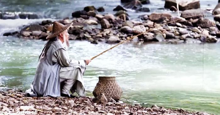 Khương Tử Nha có tài nhưng thành công muộn, 80 tuổi mới gặp được minh chủ. (Ảnh: QQ)