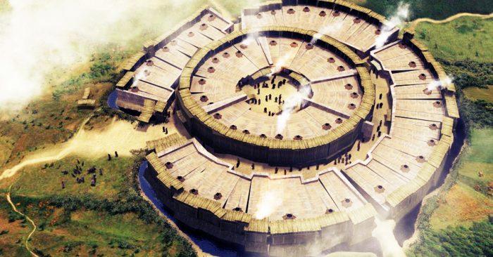 Arkaim, di chỉ thành cổ ở Chelyabinsk, nước Nga, là một trong những nơi bí ẩn nhất hành tinh.