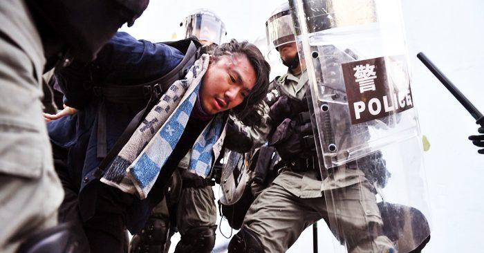 Cảnh sát Hồng Kông đang gia tăng trấn áp đối với người biểu tình.
