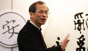 Chủ tịch Tăng Ngọc Thành của đảng Liên minh dân chủ vì sự tiến bộ và phát triển của Hồng Kông (DAB) (Ảnh: HK01)