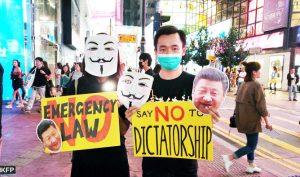 Toàn bộ người dân Trung Quốc hy vọng ĐCSTQ gỡ mặt nạ xuống và tiết lộ bộ mặt thật của mình.
