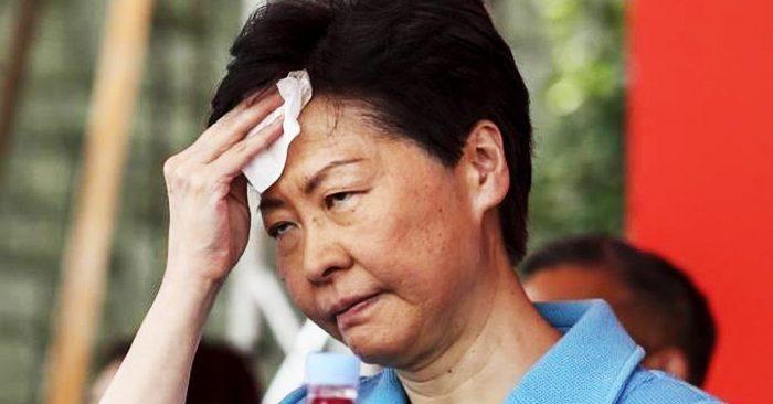Trưởng Đặc khu Hồng Kông Lâm Trịnh Nguyệt Nga được cho là nhân tố khiến tình hình Hồng Kông ngày càng trở nên bất ổn.