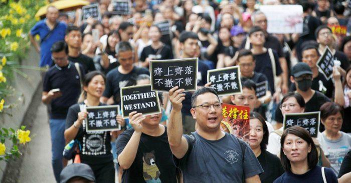 Dự luật Nhân quyền Hồng Kông như tên đã rời khỏi cây cung, bắt đầu phát huy tác dụng.