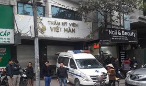 Phó trưởng công an tử vong tại thẩm mỹ viện Việt Hàn