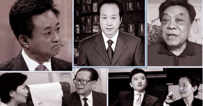 """Những nhân vật tiền nhiệm của CCTV được mệnh danh là """"tiếng nói quốc dân"""", """"gương mặt quốc dân"""" hoặc là bị chết hoặc là nghỉ hưu, đều vướng phải những chuyện chẳng lành."""