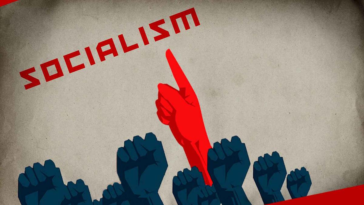 Một cuốn sách mô tả tương lai của những người hâm mộ xã hội chủ nghĩa (ảnh 1)