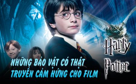 Ly kỳ sự thật các bảo bối trong truyện Harry Potter …